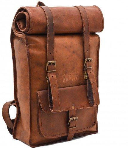 Vintage Crafts Leather Backpack College Backpack Leather Rucksack School Backpack Travel Leather Backpack Leather Laptop Backpack
