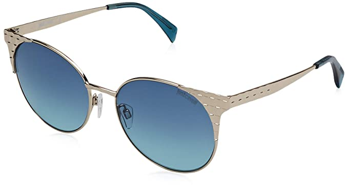 Just Cavalli JC749S Gafas de sol, Azul (Gold/Gradient Blue ...