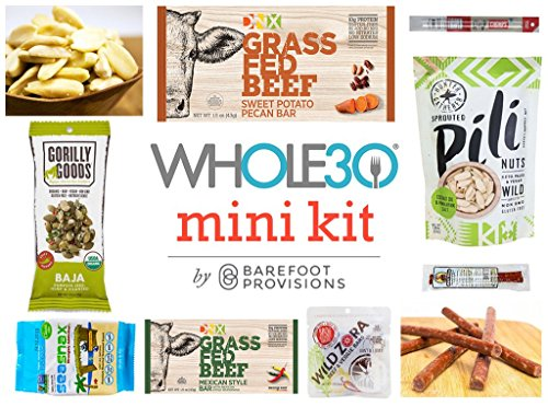 Whole30 Mini Snack Kit by Barefoot Provisions -
