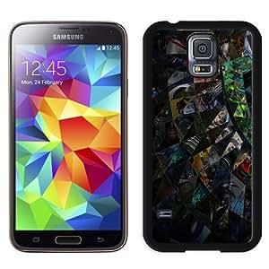 Fashionable Custom Designed Samsung Galaxy S5 I9600 G900a G900v G900p G900t G900w Phone Case With Tessellation Eye_Black Phone Case