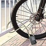 Lucchetto-per-Bicicletta-Lucchetto-a-Catena-Impermeabile-da-80-cm-con-Cavo-di-Sicurezza-110dB-Blocco-Telecomando-Senza-Fili-per-Porta-Bici