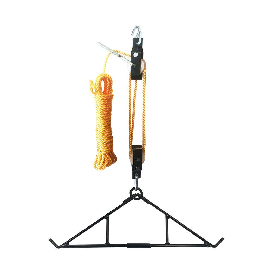 MB-Sportstar Game Hanging Gambrel Hoist Kit with Pulleys Rope 600 lbs by MB-Sportstar