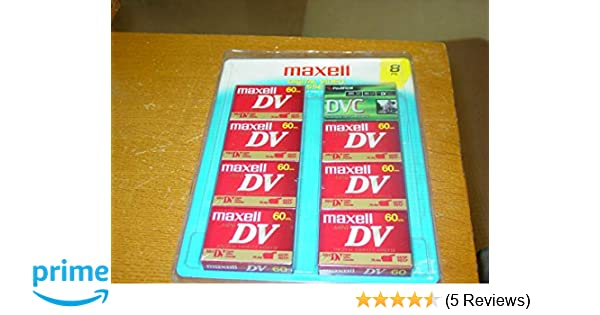 Amazon.com: Maxell MiniDV 60 8-pack: Home Audio & Theater