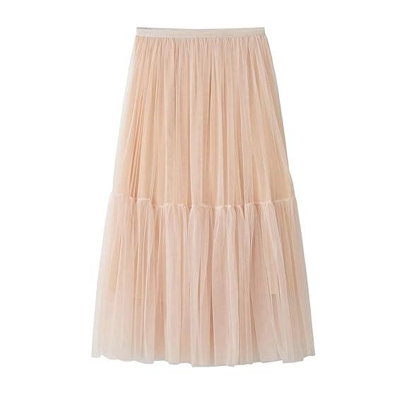 Sylar Faldas Largas Mujer 2019 Maxi Falda Largo De La Falda De La ...