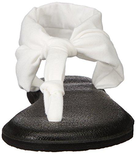 Sanuk Yoga Sling Ella Prints Sandals White PKH4RSB0