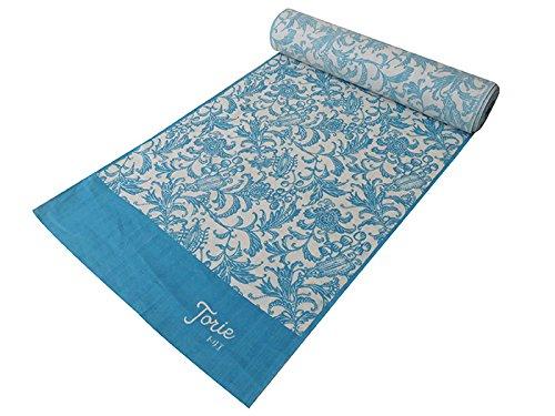 蒸留する測定可能ファンド【オフィストリエ】長板染め 浴衣反物 ブルー