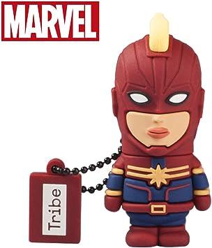 Usb Stick 32 Gb Captain Marvel Speicherstick Memory Computer Zubehör