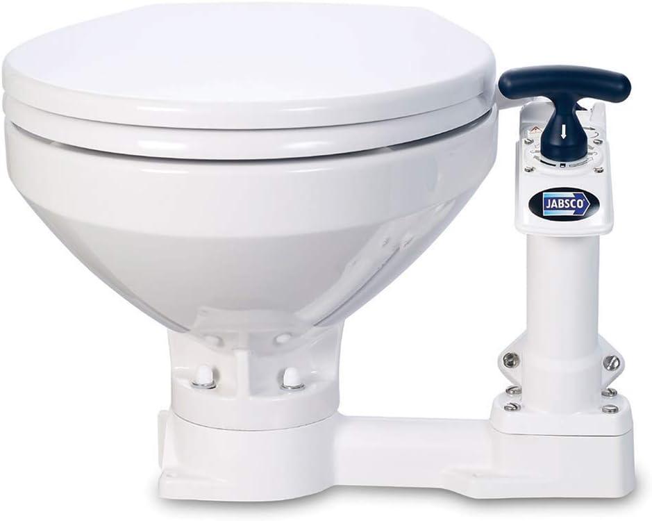 Manual Marine Toilet Boating Head Jabsco Twist n Lock