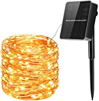 Solar String Lights Outdoor, OMERIL 240 LEDs 85ft/26M Solar Garden Lights with 8 Modes, Waterproof Copper Wire Fairy...