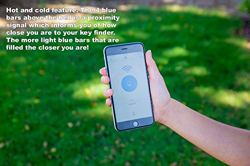 Key Finder By Great Vibez, Cell Phone Locator, Dog Tracker,TV Remote & Car Finder Includes FREE How To Ebook, Replaceable Battery & Bonus Tripod, Your Time is Valuable Let's Keep It That Way