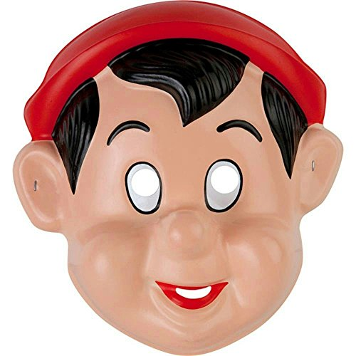 [Kid's Pinocchio PVC Costume Mask] (Pinocchio Adult Costumes)