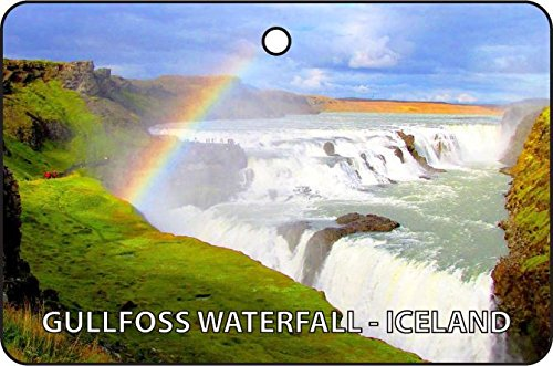 Gullfoss Waterfall - Gullfoss Waterfall - Iceland Car Air Freshener