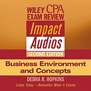 Wiley CPA Examination Review Impact Audios, Second Edition Audiobook