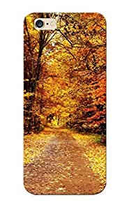 Ideal Gift PC Shockproof/dirt-proof Color Autumn Trees Park For Iphone(6 Plus) With Design