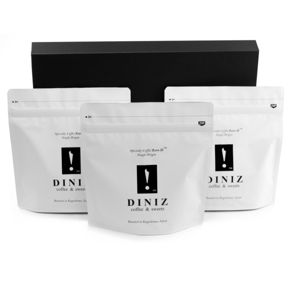 ジニスコーヒー Diniz Coffee スペシャルティコーヒー Specialty Coffee お試しセット 豆 ケニア100g・エチオピア100g・中南米100g