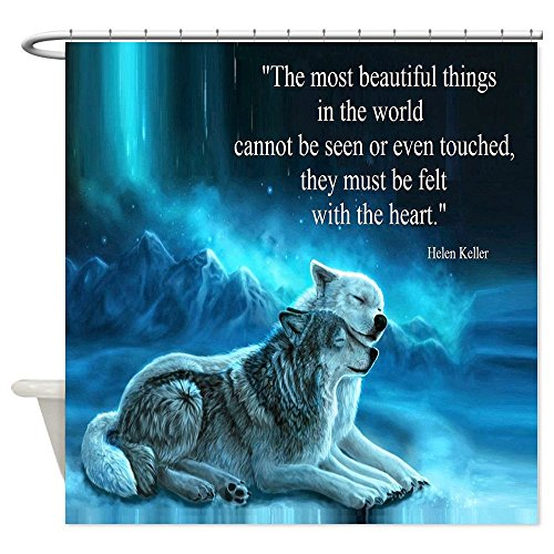 Wolf Shower Curtains | Kritters in the Mailbox | Wolf Shower Curtain
