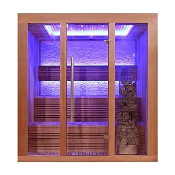 EO-SPA Sauna E1244B rote Zeder/180x150/9kW Kivi: Amazon.de: Baumarkt