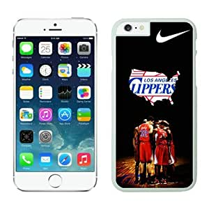 Iphone 6 Cover Case L.A. Iphone 6 Cover Case Clippers iPhone 6 4.7 Inch Cases 4 White TPU Phone Case