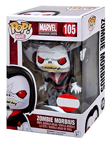 Funko 2015 October Marvel Collector Corps Exclusive Zombie Morbius #105 Pop