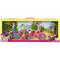 Barbie Sister Cycling Fun Playset