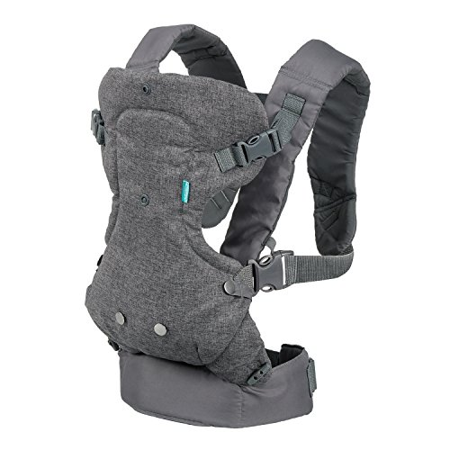 Infantino 4-in-1 Convertible Carrier, Light Grey