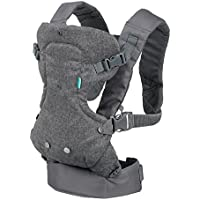 Infantino Flip Advanced 4-in-1 Convertible Carrier, gris claro