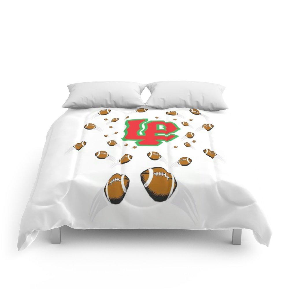 Society6 LaSalle Peru High School Football Comforters Full: 79'' x 79''