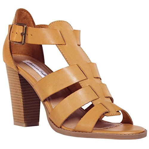 American Eagle Hooligan Brown Womens Synthetic Heels 8.5M