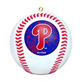 MLB Mini Replica Baseball Ornament