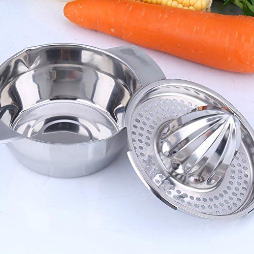 Citrus Juicer Orange Lime Durable Home Tragbare Zitrone Küche Handbuch Edelstahl Presswerkzeug
