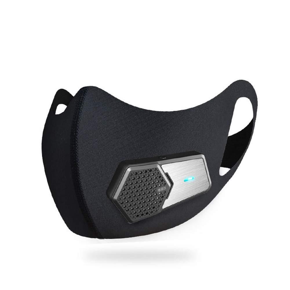 Máscara Contra el Polvo, Máscara Eléctrica Inteligente a Prueba de Polvo Antivaho Y Protección Respiratoria Industrial Contra Polvo PM2.5 Máscara de Ventilació