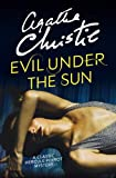 Front cover for the book Evil Under the Sun by Agatha Christie