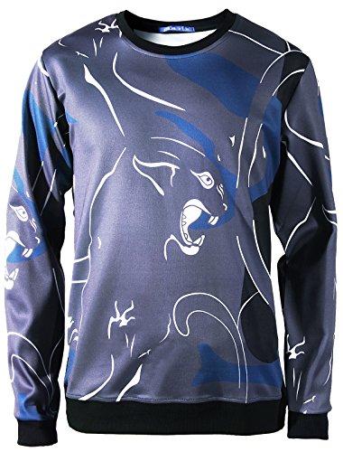 Line Crewneck Sweatshirt - 5