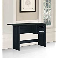 Hodedah Import Writing Table, Black