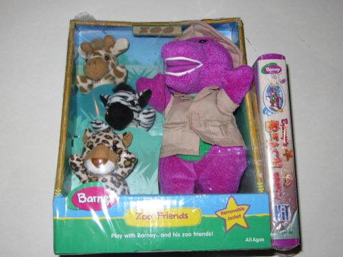 Barney and Zoo Friends with VHS Video