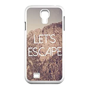 Let's Escape Wholesale DIY Cell Phone Case Cover for SamSung Galaxy S4 I9500, Let's Escape Galaxy S4 I9500 Phone Case