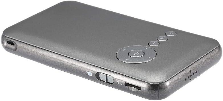 JIAJU Proyector DLP LED Mini decodificador Smart TV Box/Color: Gris/Tamaño del artículo: Aprox. 14.5 * 8 * 1.5 cm / 5.71 * 3.15 * 0.59in: Amazon.es: Hogar
