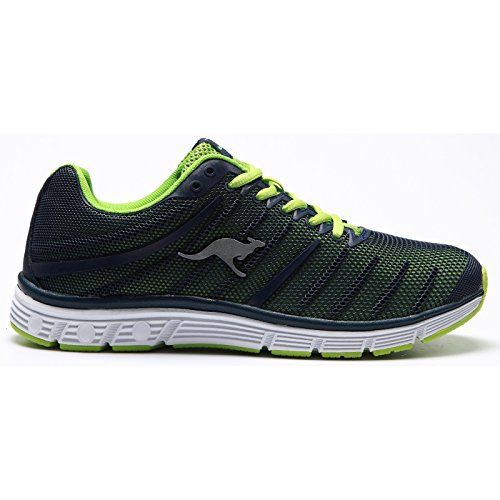 Canguro Adulti Unisex K-tech 8007 Sneakers Navy / Lime