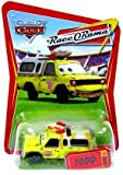Disney/Pixar Cars, RSN (Racing Sports Network) Die-Cast Vehicle, Todd Pizza Planet #8/8, 1:55 Scale