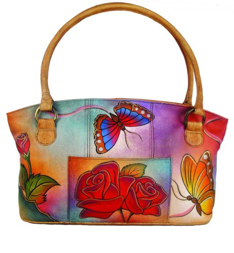 anuschka-anna-handpainted-leather-wide-tote-rose-butterfly