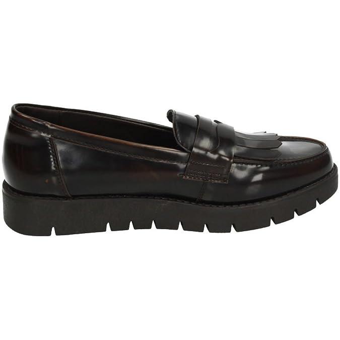 XTI 46264 Mocasines Moda Mujer Zapatos Mocasín Marrón 36 sz1RJM