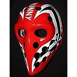 1:1 Custom Vintage Fiberglass Roller NHL Ice Hockey Goalie Mask Helmet Michel Raymond Bunny Laroque HO95