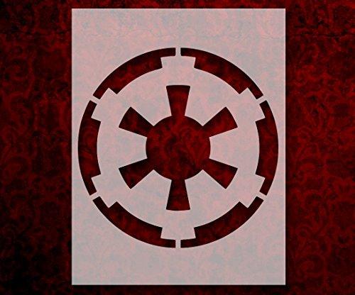 Star Wars Galactic Empire Crest Emblem 8.5