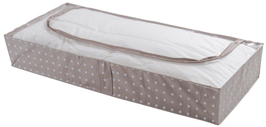 Compactor Rivoli Extra Flat Under bed Storage Bag 107 x 46 x 16cm, Cappuccino/White C.I.E. Europe B00JR3T5ZC