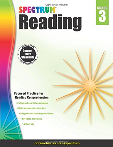 Spectrum Reading Workbook, Grade 3 by Spectrum