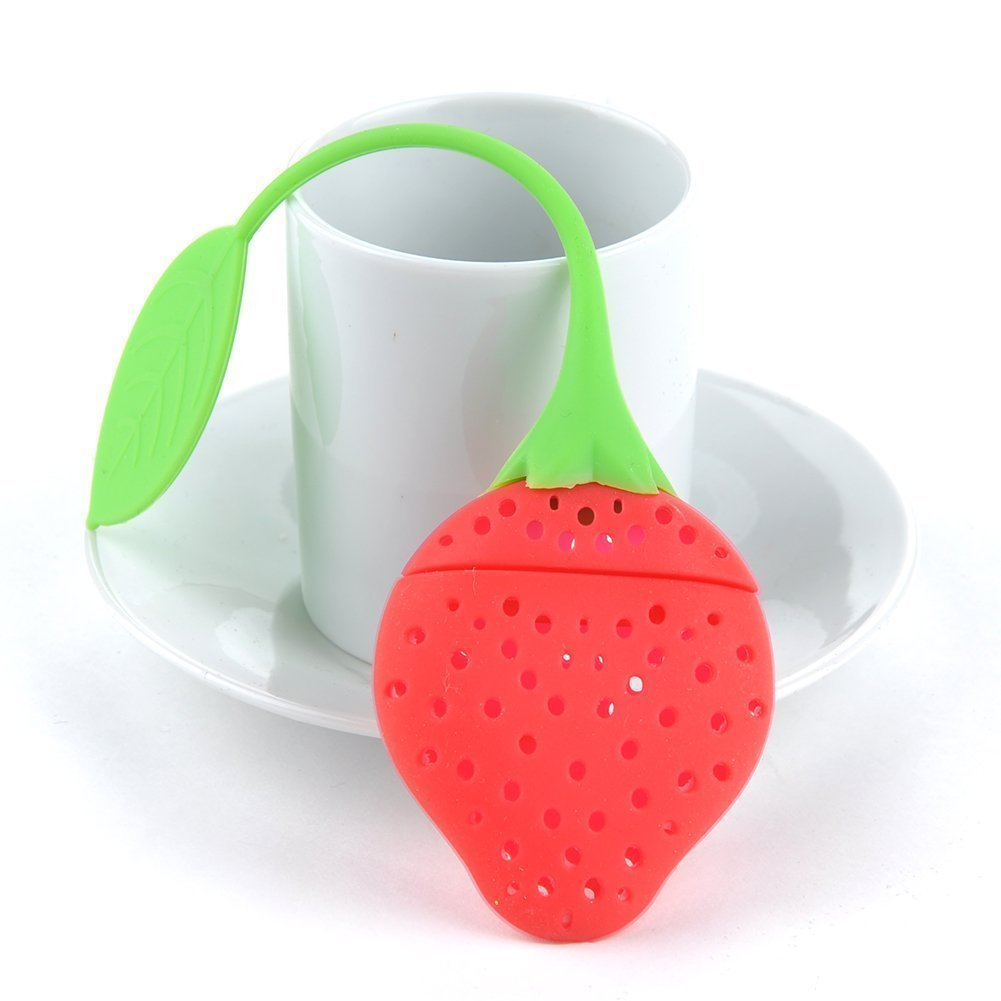 IDEABBC Silicone tea infuser colino Th i spia etere Re Teacup