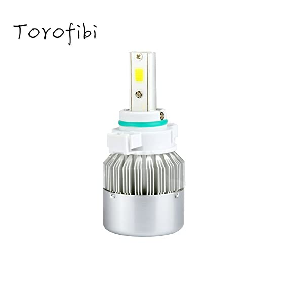 Amazon.com: Torofibi 5202/PSX24W/5200/5201/LED Fog Light Bulbs Kits-Flip COB Chips-60W 7600LM 6000K-(Pack of 2): Automotive