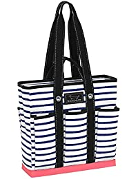 POCKET ROCKET Large Tote Bag for Women, Utility Tote Bag with Pockets and Zippered Compartments for Teachers and Nurses (Multiple Patterns Available)