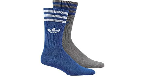 Adidas Solid Crew 2Pp Calcetines, Hombre, Azul (Azul/Grpumg), 35/38: Amazon.es: Deportes y aire libre