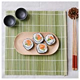 JapanBargain 3987, Set of 6 Bamboo Sushi Rolling